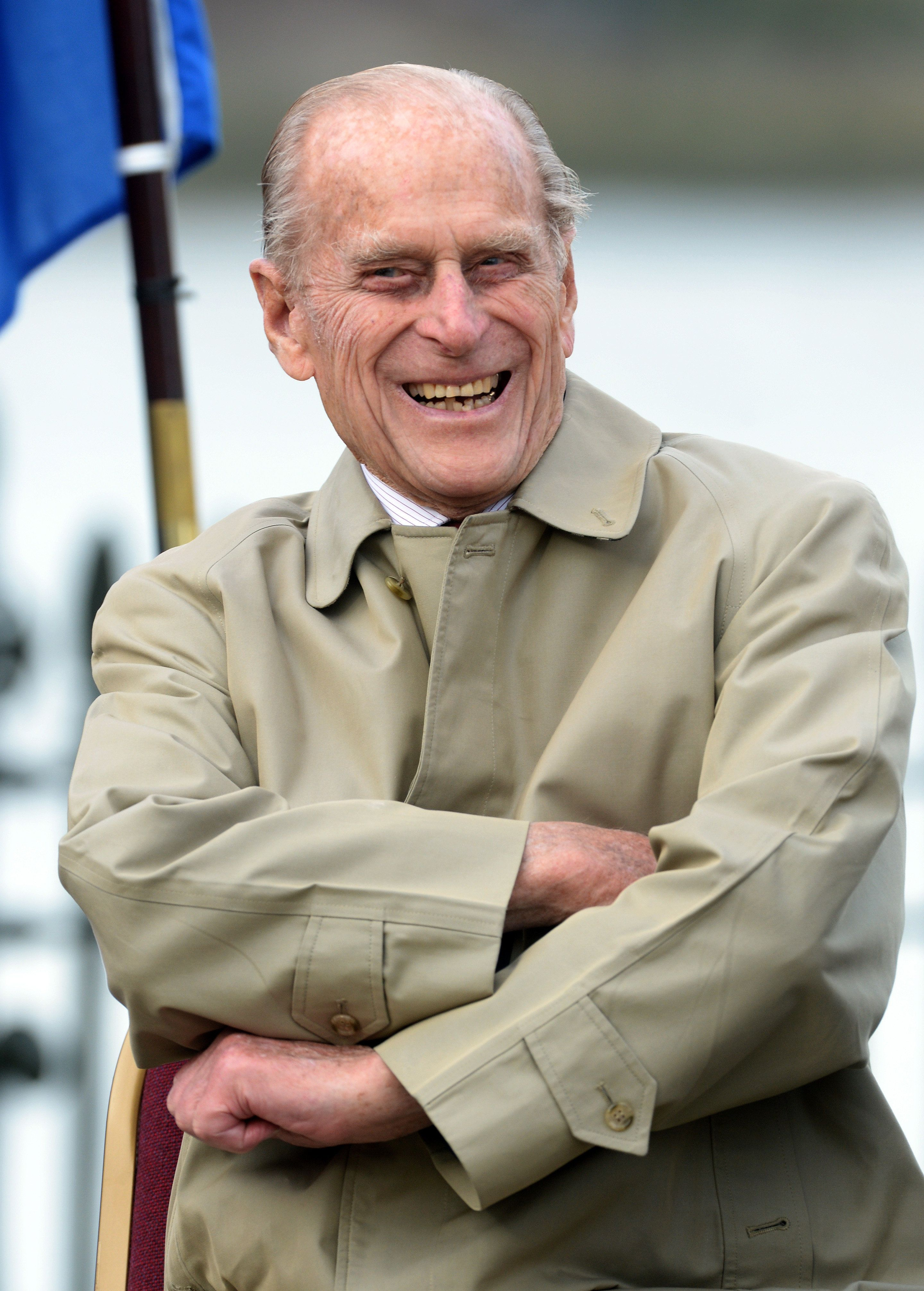 Prince Philip Reacts To Retirement Well-Wisher With An Absolutely Top-Notch Dad