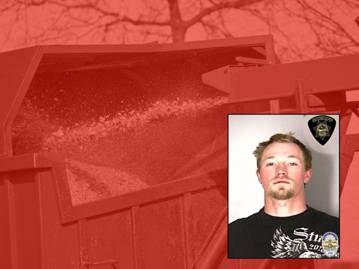 Oregon Man Accused of Trying to Shove Coworker Inside Wood Chipper