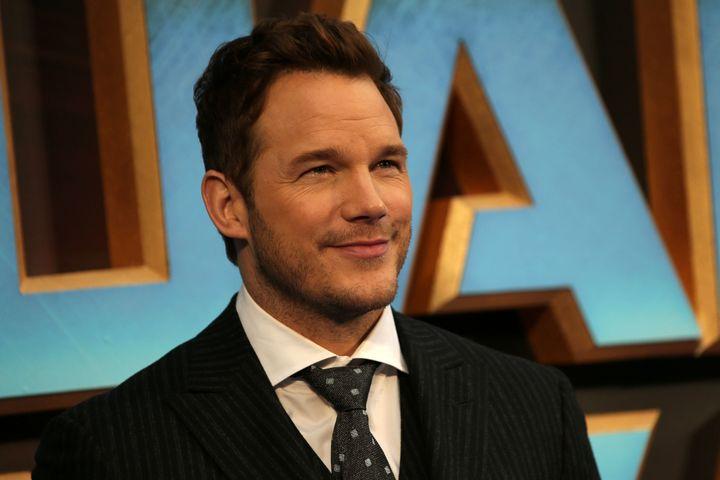 "Chris Pratt attends a ""Guardians of the Galaxy Vol. 2"" screening in London."