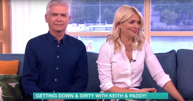 Holly Willoughby innuendo has This Morning studio in fits of laughter