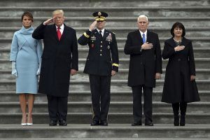 President Donald Trump got help to fund his inauguration largely from Wall Street, the oil and mining industries and real es
