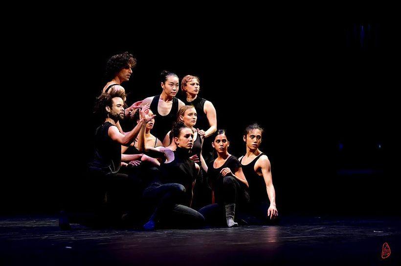 "KYL/Dancers in a scene from ""Santuario"""