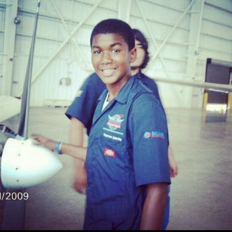 Trayvon Martin, Who Dreamt Of Being A Pilot, To Receive Honorary Aviation