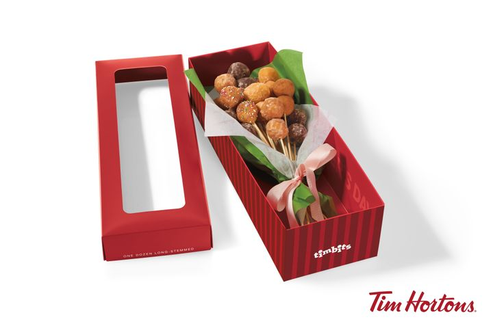 Tim Hortons has an extra sweet bouquet option for Mother's Day.