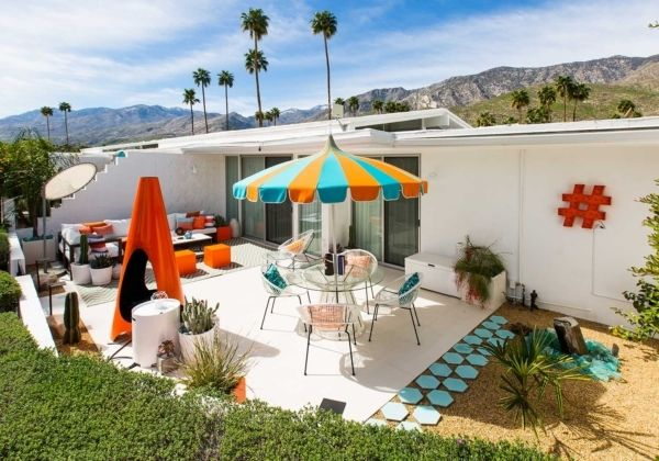 When Midcentury Modern Design Lovers Dave And Brennan Found A Canon View Estates Condo For Sale In Palm Springs Few Months Back They Jumped At The