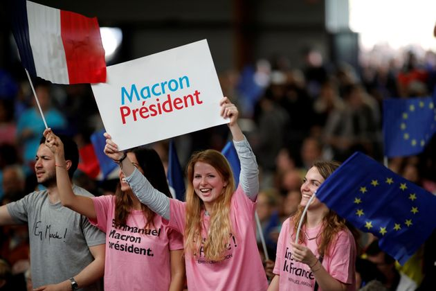 Macron supports are hoping he can revitalize the economy and reform the European