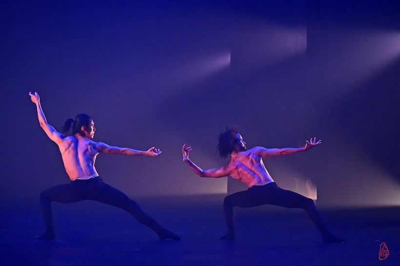 Liu Mo & Nikolai McKenzie in  'Yang & Ying' from One: The Immortal Game