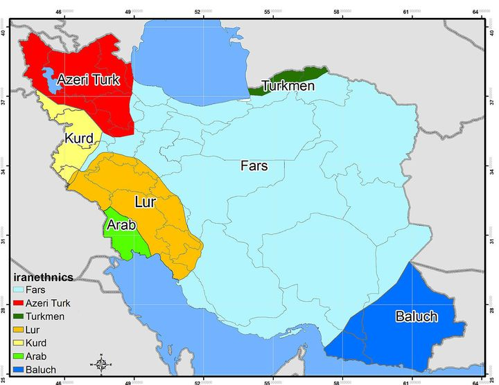 Iran's ethnic minorities