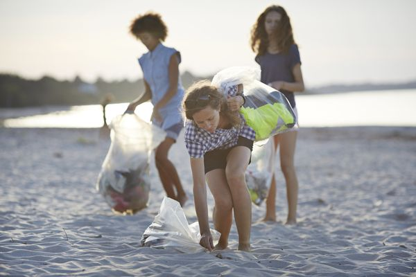 Every year, Ocean Conservancy organizes the International Coastal Cleanup, a global event that asks volunteers to collect pla
