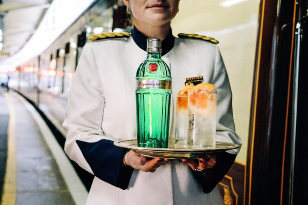 A Gin Train Is Pulling Into Town To Take You On A Magically Boozy