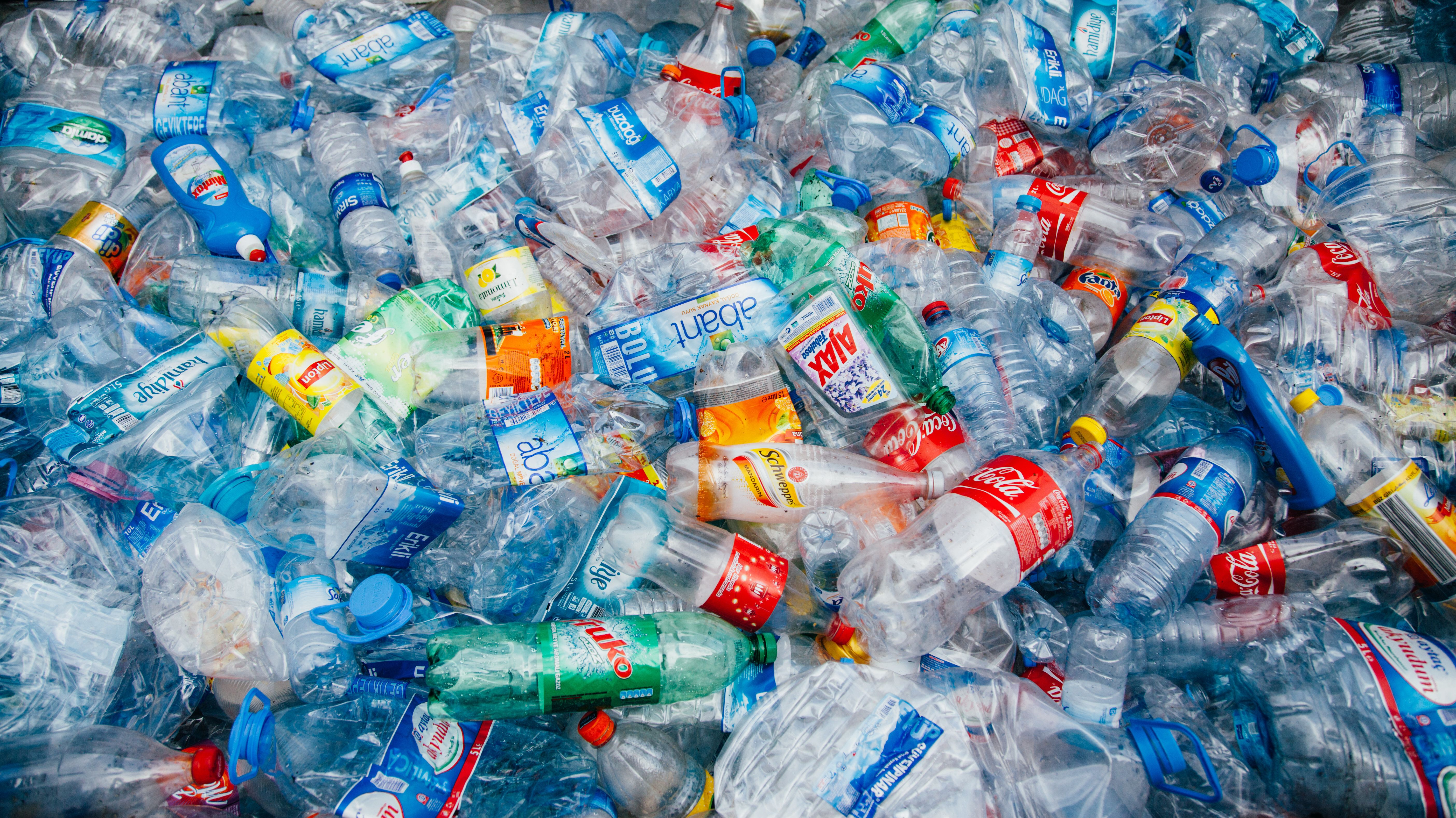 """Single-use plastic products, like plastic beverage bottles, are the """"biggest source of trash""""..."""