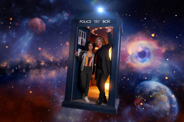 Peter Capaldi and Pearl Mackie in 'Doctor