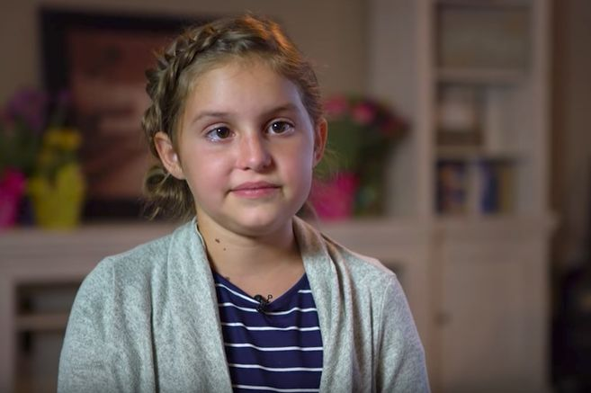 Little Girl With Inoperable Brain Cancer Tearfully Shares Her Dreams For The Future: 'I Want To Be A