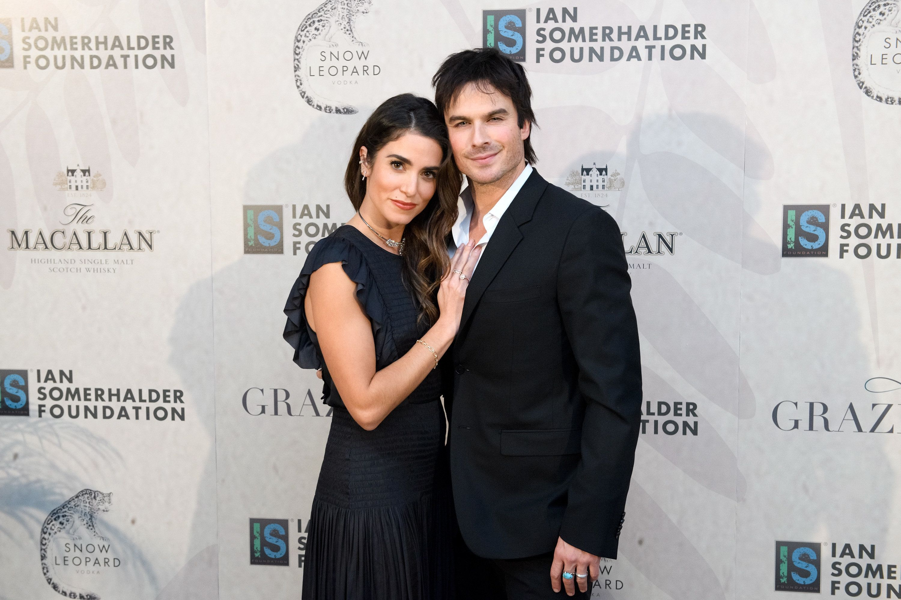 CHICAGO, IL - DECEMBER 03:  Nikki Reed and Ian Somerhalder attend Ian Somerhalder Foundation Benefit Gala at Galleria Marchetti on December 3, 2016 in Chicago, Illinois.  (Photo by Daniel Boczarski/WireImage)