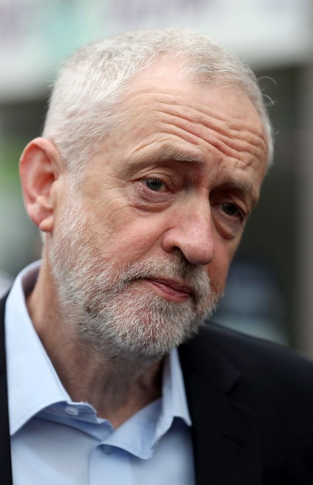 Support for Labour leader Jeremy Corbyn was not