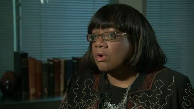 Diane Abbott was told Labour's net losses were more than twice as bad as the figure she was