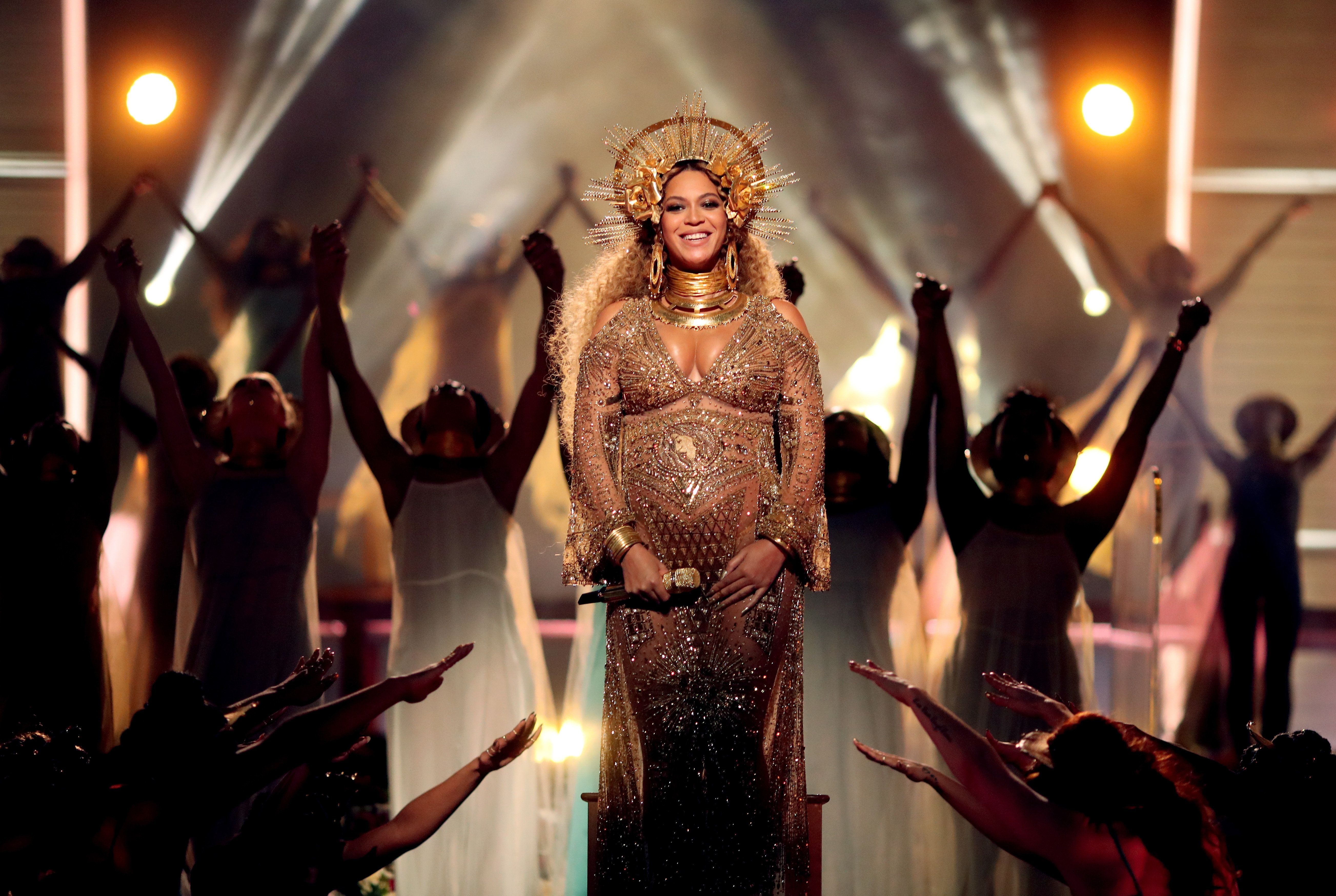 Beyoncé's publicist released a powerful statement about the effects of pregnancy after a gossip site questioned whether the singer had lip injections.