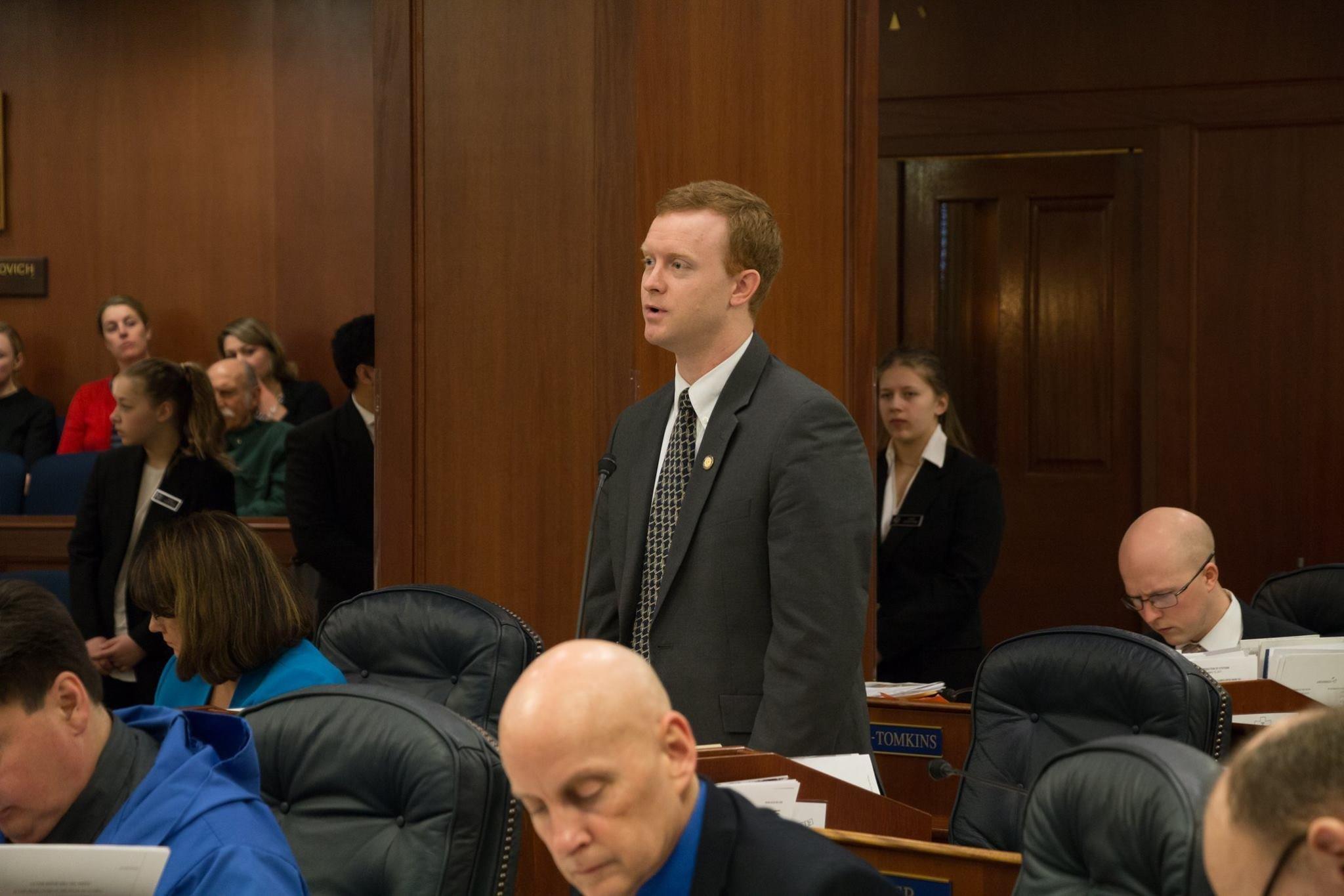 David Eastman, Alaska lawmaker.
