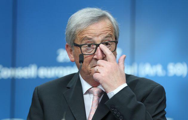 Jean-Claude Juncker said English was 'losing