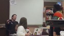 Black Student Confronts Teacher Who Insists He Can Use Racial