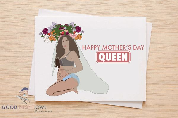 "$6, <a href=""https://www.etsy.com/listing/510485060/happy-mothers-day-queen-card-for-mothers"" target=""_blank"">GNODpop</a>"