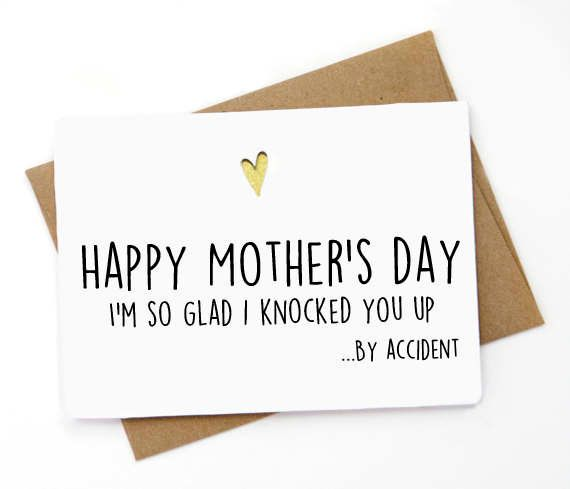 "$5, <a href=""https://www.etsy.com/listing/509518558/funny-mothers-day-card-for-wife-mothers"" target=""_blank"">SpicyCards</a>"
