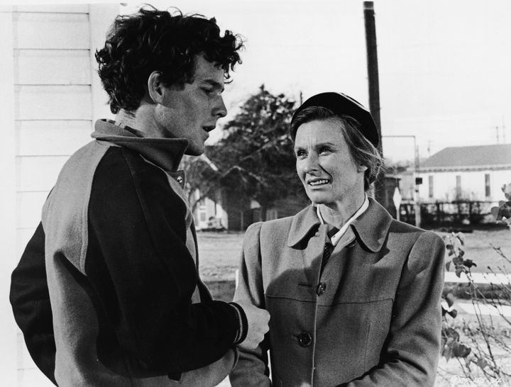 "Timothy Bottoms and Leachman star in a scene from ""The Last Picture Show."""