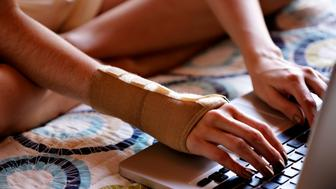 Carpal Tunnel Syndrome due to computer work