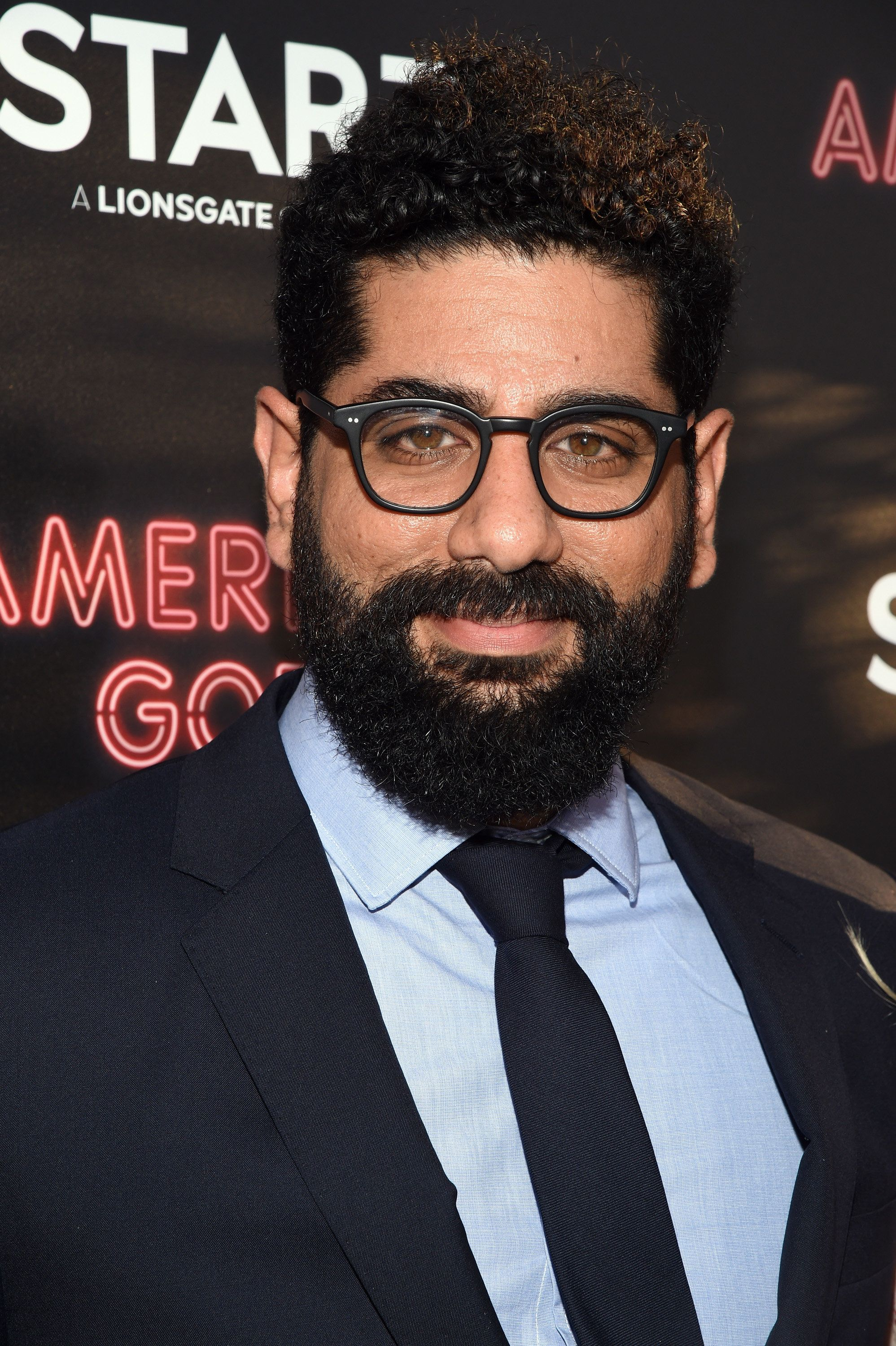 LOS ANGELES, CA - APRIL 20:  Actor Mousa Kraish attends the 'American Gods' premiere at ArcLight Hollywood on April 20, 2017 in Los Angeles, California.  (Photo by Michael Kovac/Getty Images for Starz)