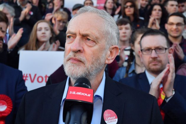 Jeremy Corbyn. Not pictured: Andy