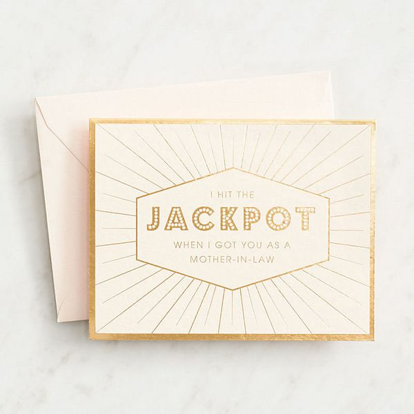 "<i>Buy it from <a href=""http://www.papersource.com/item/Jackpot-Mother-in-Law-Mothers-Day-Card/3901_002/10000342.html"" target"