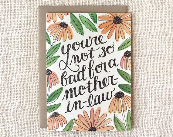 10 mothers day cards for a mother in law you really truly like ibuy it fromnbsp m4hsunfo