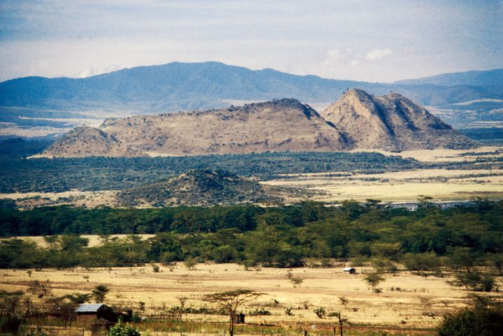 Landscape of the Rift Valley.
