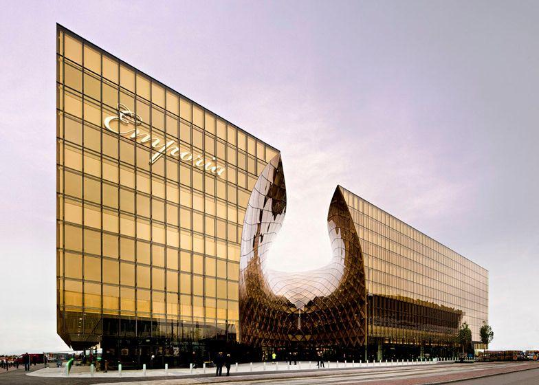 Incredible design - super sleek Malmo Mall