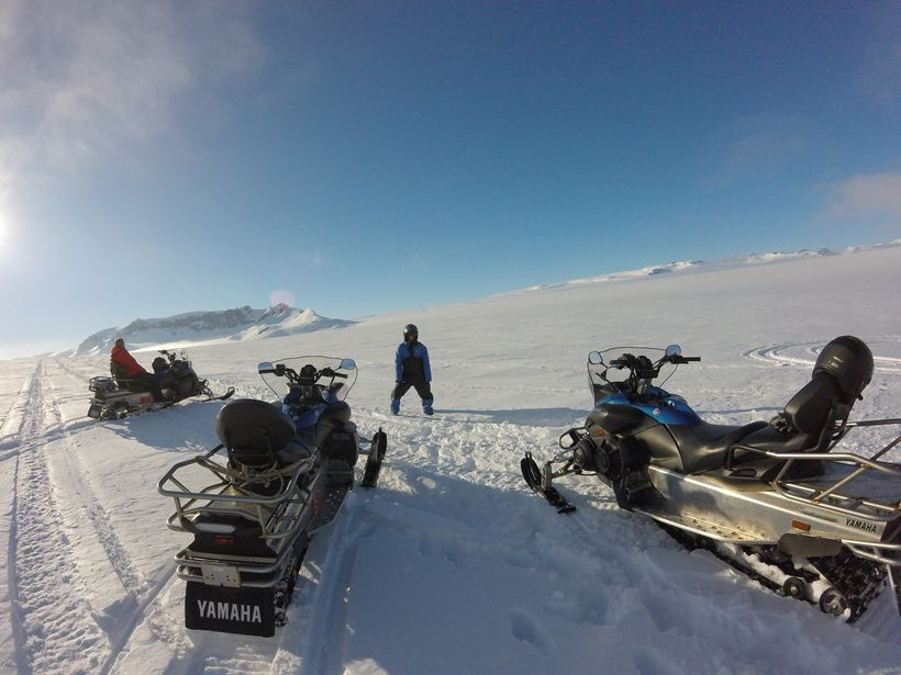 Don't miss out on a snowmobiling tour of Vatnajökull, the largest glacier in Europe!
