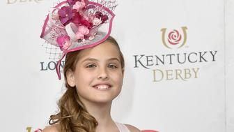 LOUISVILLE, KY - MAY 06:  Dannielynn Birkhead attends the 143rd Kentucky Derby at Churchill Downs on May 6, 2017 in Louisville, Kentucky.  (Photo by Gustavo Caballero/Getty Images for Churchill Downs)