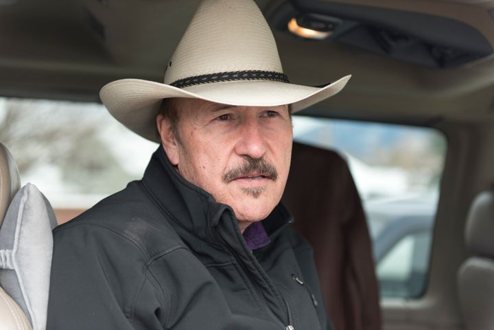 Montana Democrat Rob Quist, seen here campaigning, is attacking GOP opponent Greg Gianforte over accusations of disabili