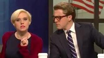 Kate McKinnon and Alex Moffat do a number on Morning Joe