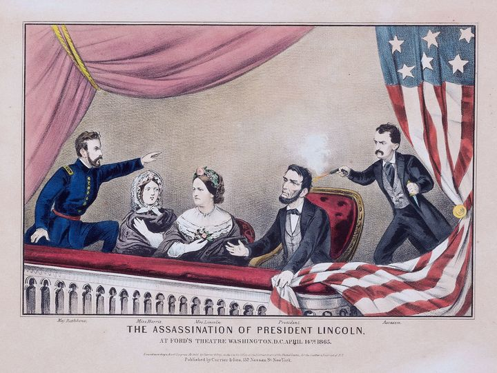<em><strong>Assassination of Abraham Lincoln. </strong></em>Donald Trump was so surprised to find out that Lincoln was a Repu