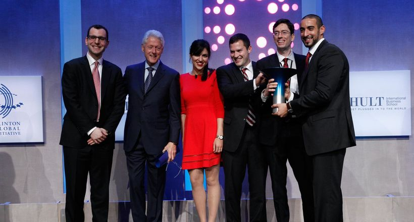The annual Hult Prize Challenge, a global student competition for social good.