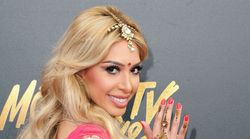 Farrah Abraham Sparks Controversy With Bollywood Outfit At MTV Movie & TV