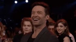 Nobody Was More Delighted By The MTV Awards Opening Than Hugh