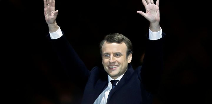 Emmanuel Macron, who will soon become eighth president of the Fifth French Republic.