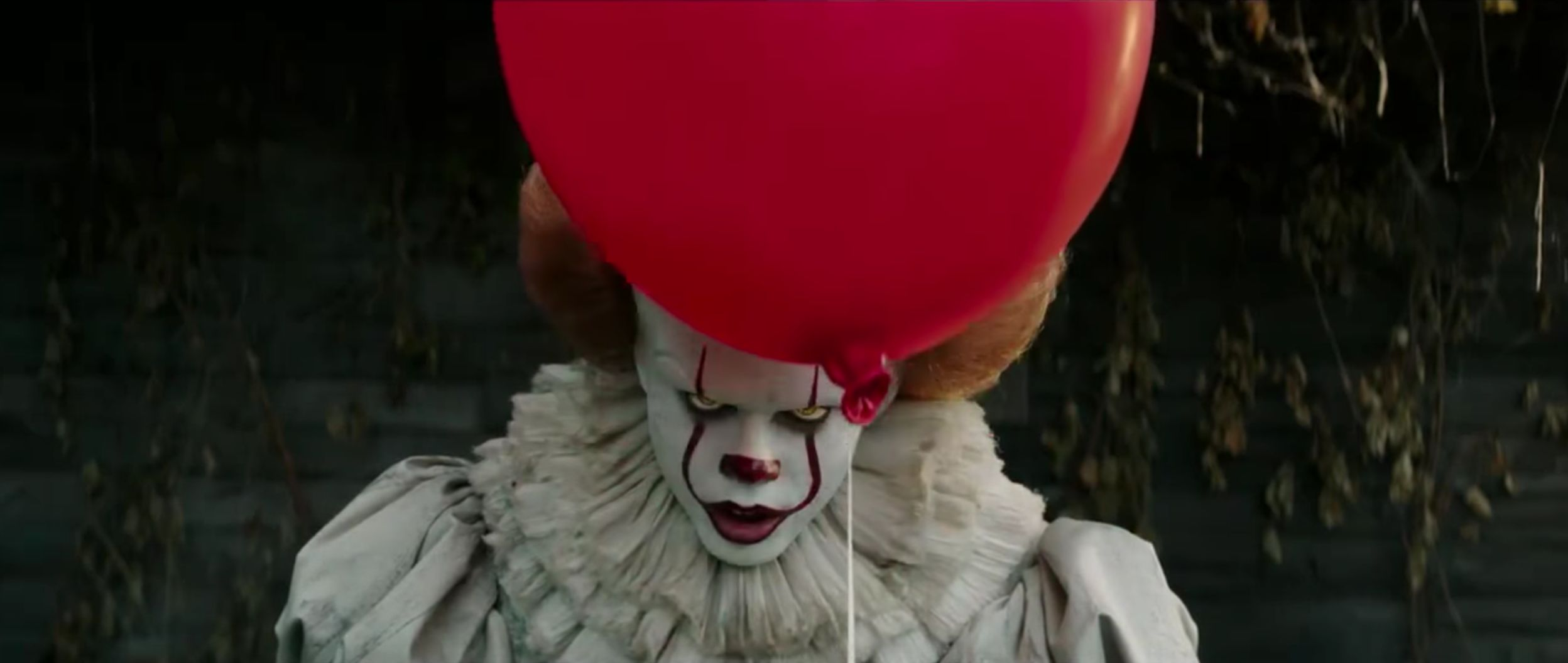 Some people can't waitto see Pennywise the clown in