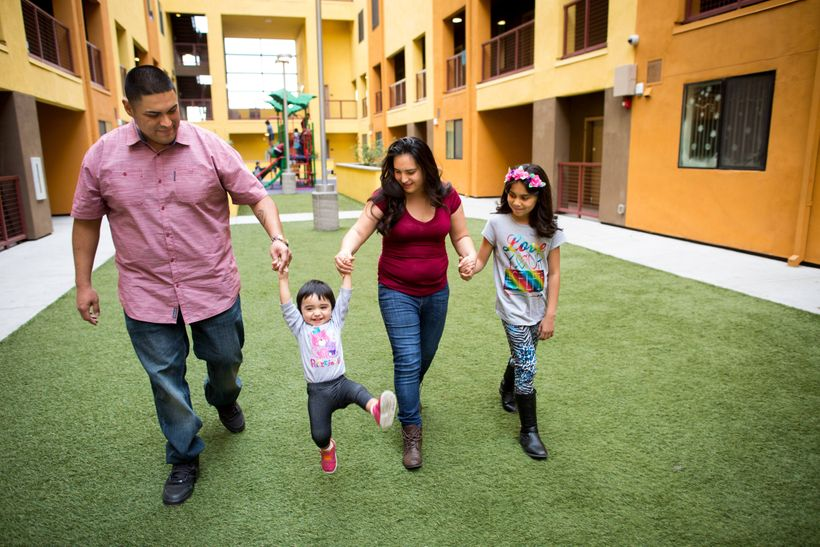 Developed by a non-profit group in Phoenix, the Devine Legacy on Central is a high-quality, affordable housing community buil