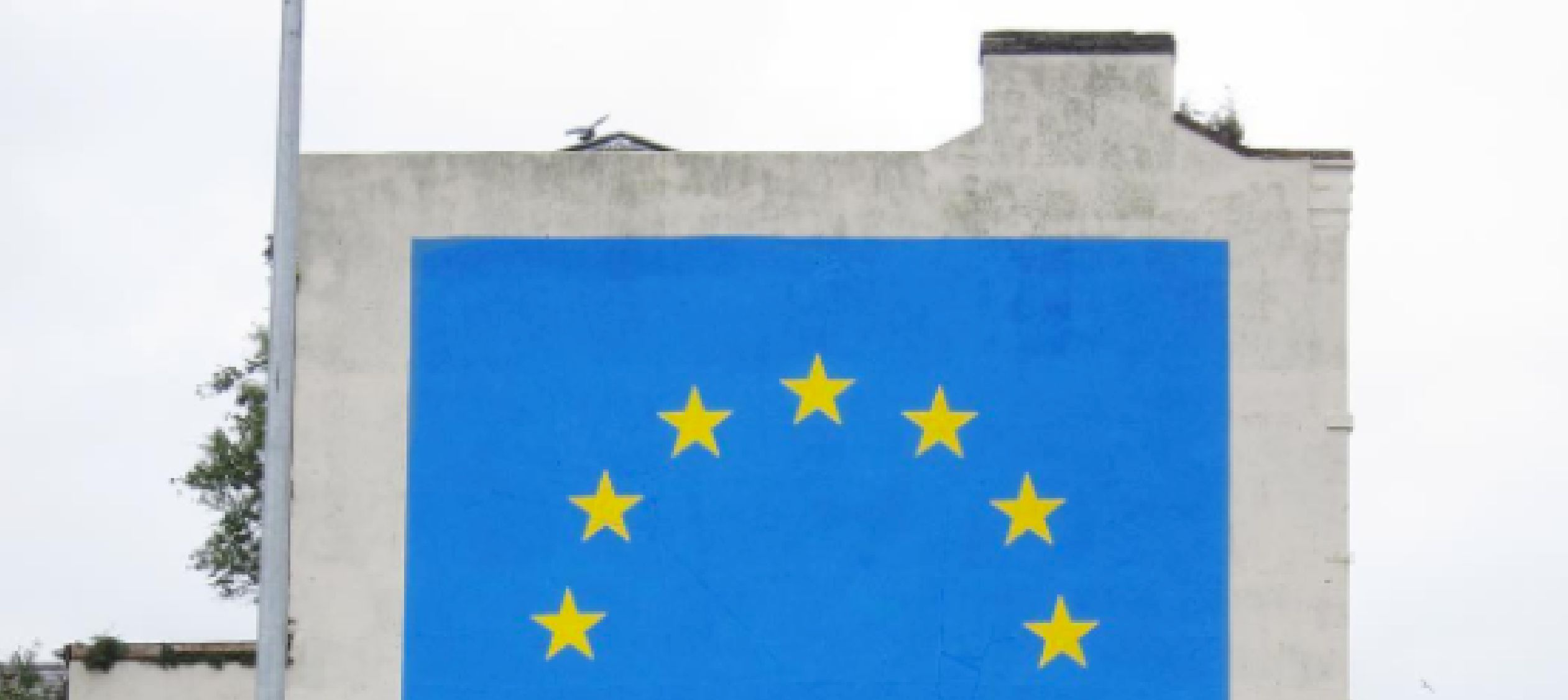 People Aren't Impressed With Banksy's Brexit-Themed