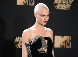 MTV Movie And TV Awards 2017: Cara Delevingne Slays Head Tattoo