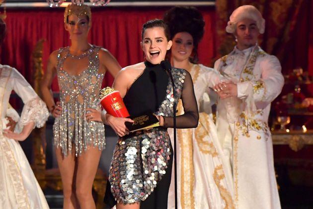 Emma Watson scooped the genderless Best Actor gongat the MTV TV & Movie