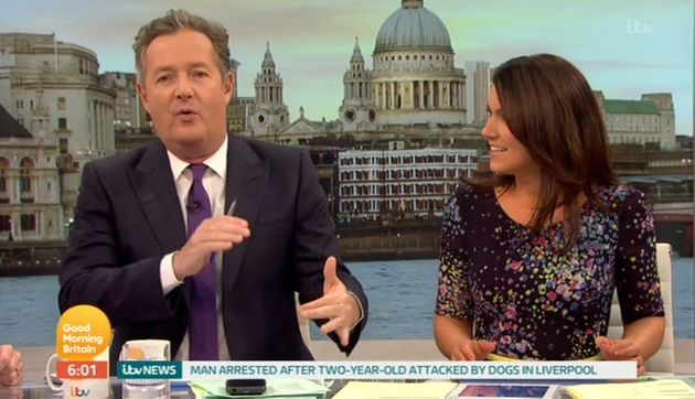 Piers Morgan launched into a rant on 'Good Morning
