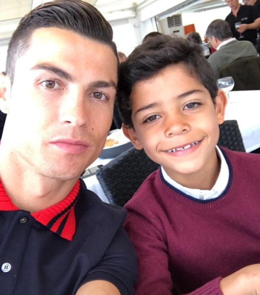 Cristiano Ronaldo's Son Proves He Has The Football Gene, In Proud Parenting